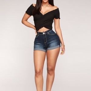 FASHIONOVA  Denim Shorts